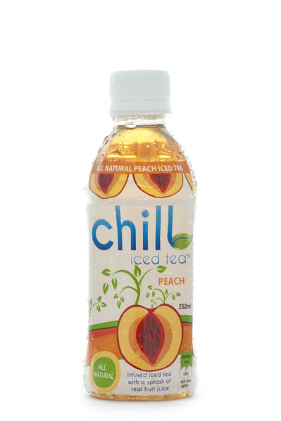 chill iced tea peach
