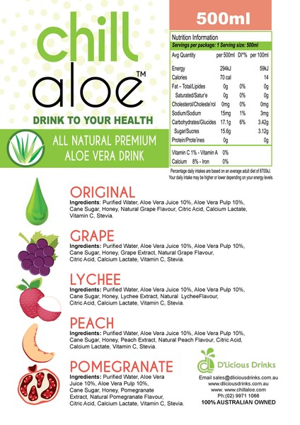 chill aloe back cover